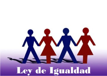 Ley de Igualdad